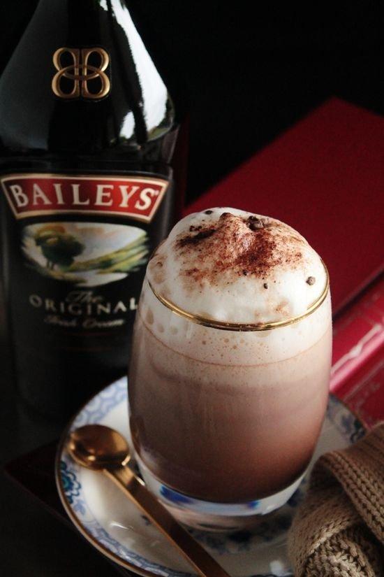 Bailey's Irish Cream Hot Chocolate