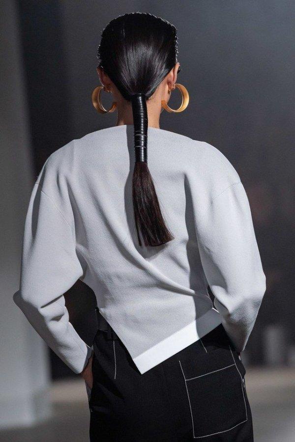 Hair, White, Hairstyle, Clothing, Fashion,