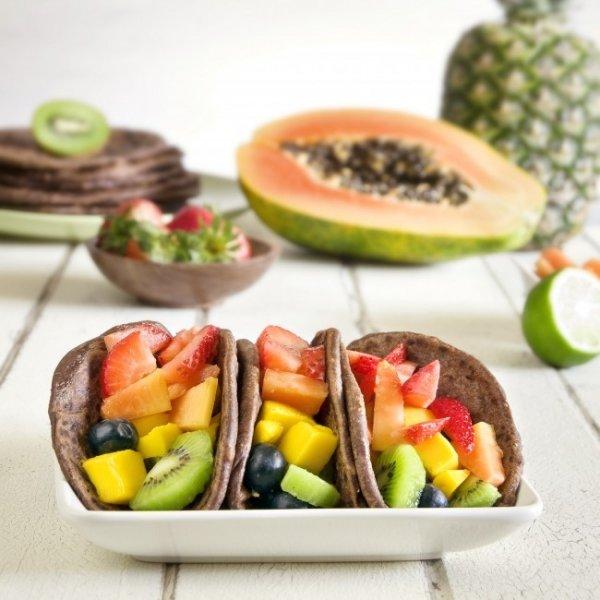 Fruity Dessert Taco