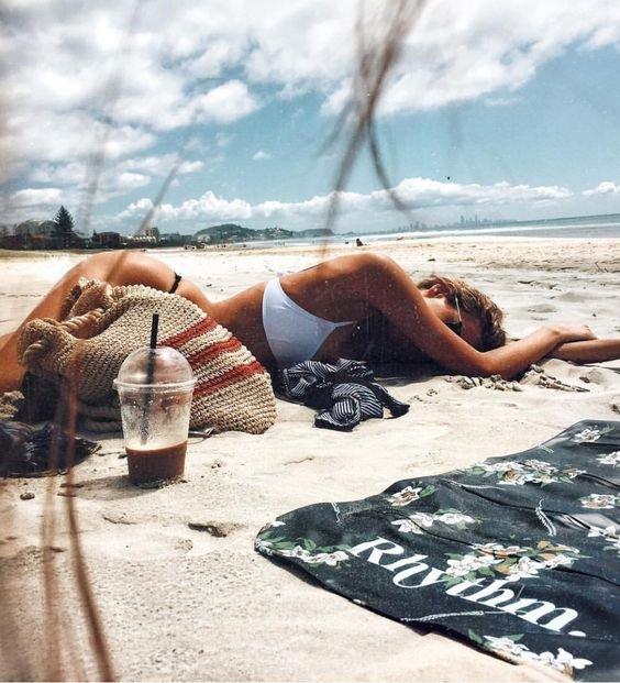 sun tanning, beach, sea, vacation, swimwear,
