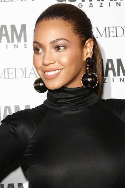 Beyonce's Sleek Ponytail