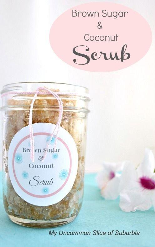 Coconut and Brown Sugar Scrub