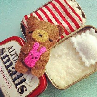 Teddy in a Tin