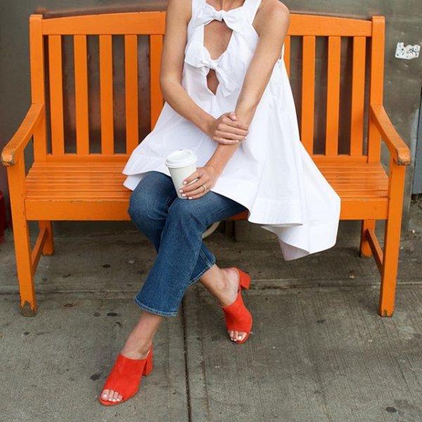 clothing, human positions, sitting, dress, footwear,