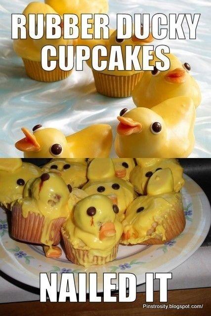 Rubber-ducky Cupcake