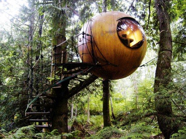 Free Spirit Spheres - Vancouver Island, Canada