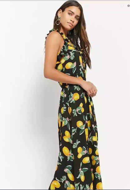 clothing, fashion model, day dress, yellow, dress,