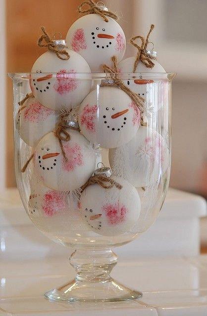 Snowman Snowballs