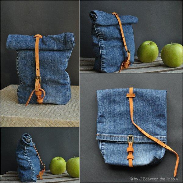 Make a Denim Snack Bag