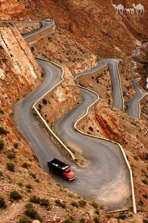 Garganta Del Dades, Morocco