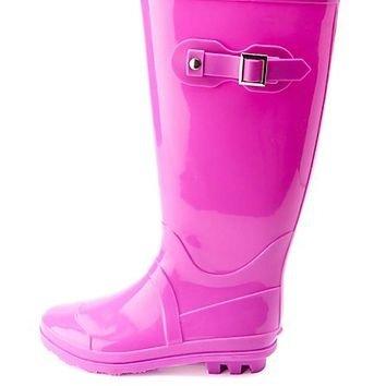 Lavender Rain Boots