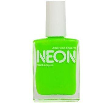 American Apparel Nail Polish in Neon Green