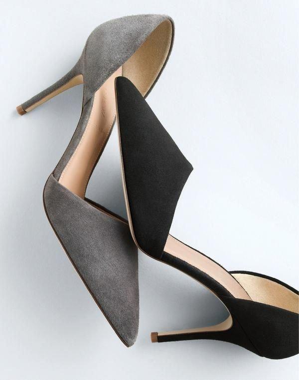 Footwear, High heels, Court shoe, Shoe, Leather,