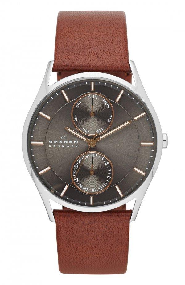 watch, watch strap, brown, watch accessory, hand,
