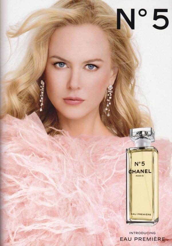 Nicole Kidman for Chanel No.5