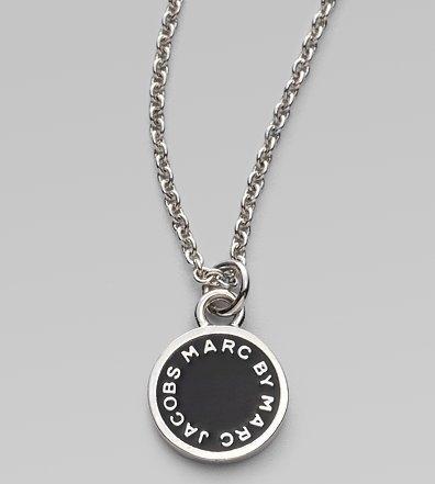 Marc by Marc Jacobs Enamel Disc Pendant Necklace