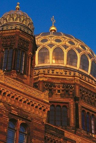 Admire the Design of Neue Synagoge