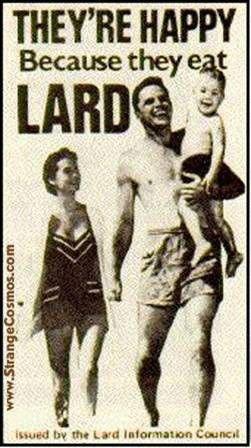 Eating Lard