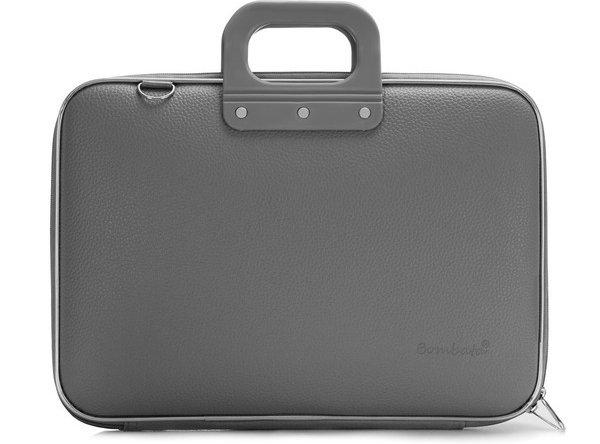 Classic Laptop Briefcase, Grey