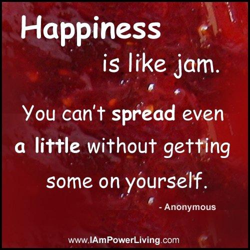 Spread Happiness like Jam