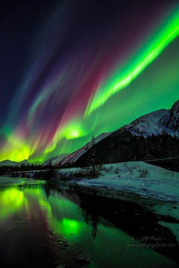 aurora,atmosphere,reflection,its,www.lavalighlgalleries,