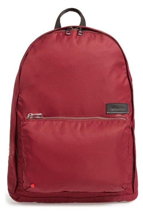 bag, backpack, hand luggage, magenta,