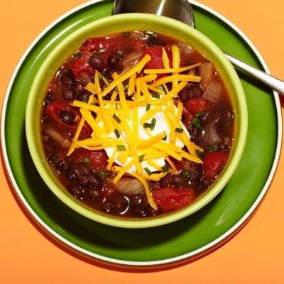 Full-Free Black Bean Chili