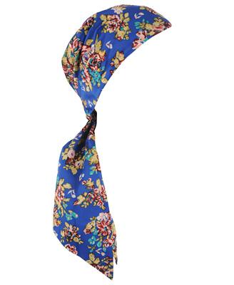 Floral Self Tie Headwrap