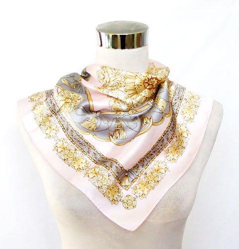 Ornamental Silk Bandana