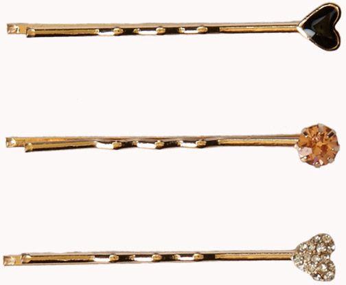Rhinestone Hair Pins
