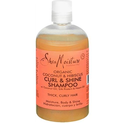 Shea Moisture Organic Shea Butter Curl & Shine Shampoo