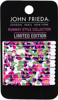 John Frieda Brunette Runway Collection 12pk Bobby Pins