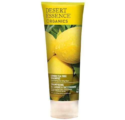 Desert Essence Shampoo for Oily Hair in Lemon Tea Tree