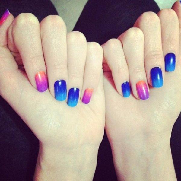 nail, finger, hand, manicure, petal,