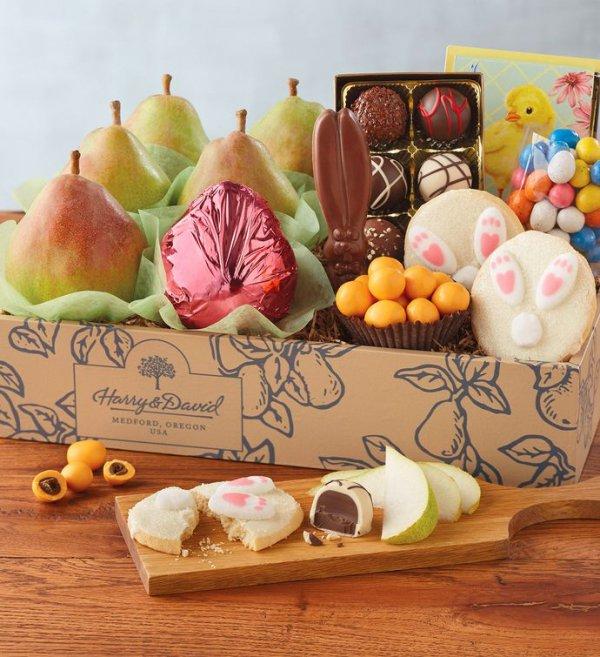 food, dessert, fruit, gift basket, sweetness,