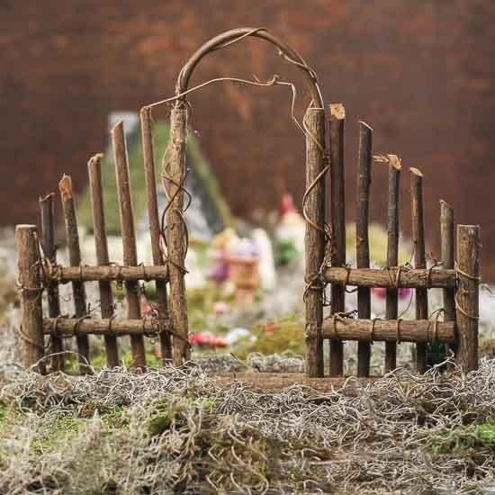 Twig Garden Gate