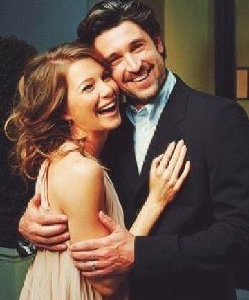 "Patrick Dempsey and Ellen Pompeo on ""Grey's Anatomy"""