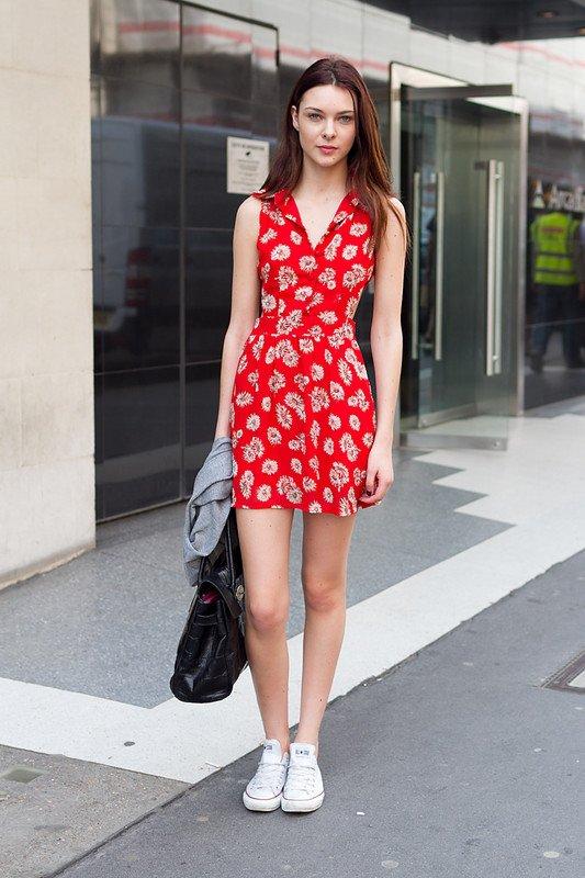 Super Cute: Red Dress