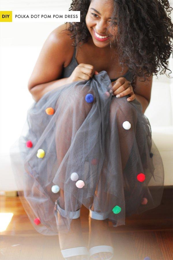 Pom Pom Skirt