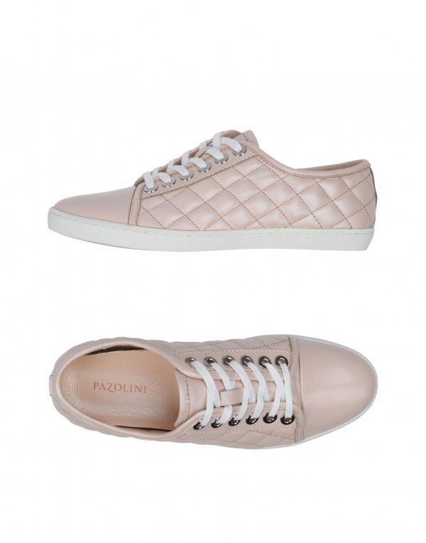 footwear, shoe, sneakers, pink, brown,