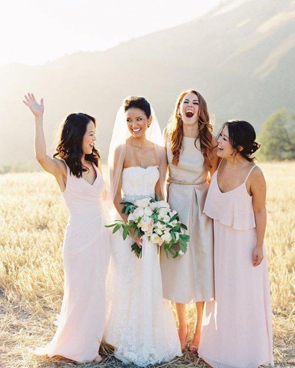 person, woman, bride, bridesmaid, wedding dress,