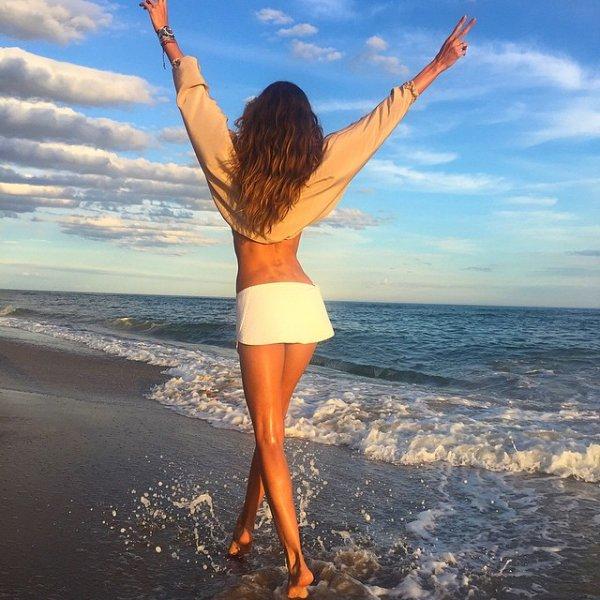 sea, vacation, shore, person, beach,