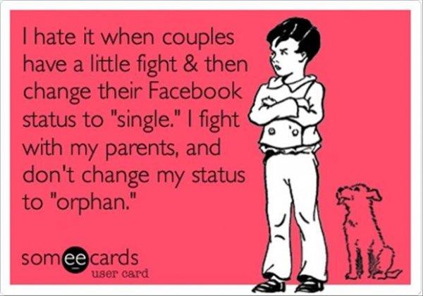 Relationship Status on Facebook