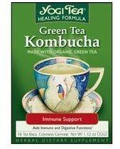 Yogi Teas Golden Temple Tea Co Green Tea Kombucha