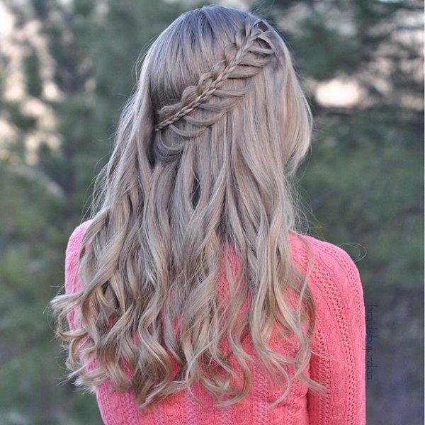 hair, hairstyle, pink, blond, long hair,