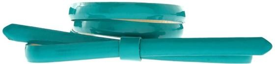 ASOS Patent Bow Thin Belt