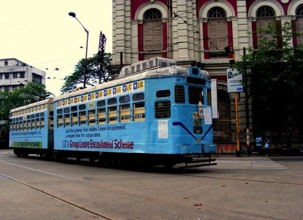 Ride the Tram in Kolkata