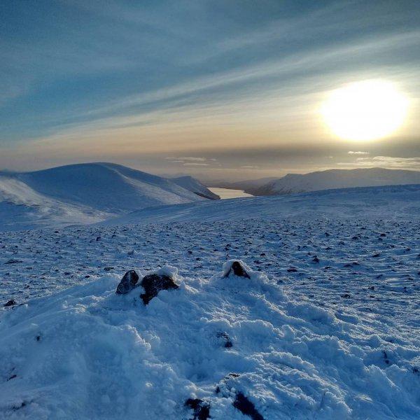 sky, snow, mountainous landforms, freezing, winter,