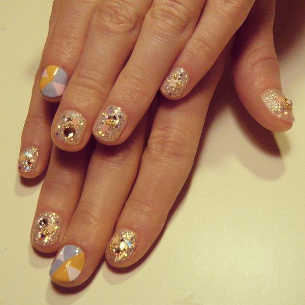 nail, manicure, nail care, cosmetics, acrylic paint,