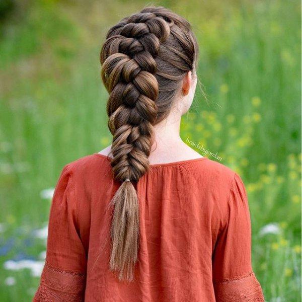 hair, hairstyle, braid, french braid, head,